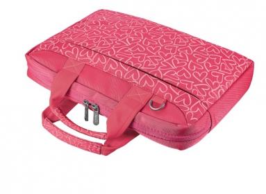 Trust Bari Carry Bag 13.3'' Rózsaszín-mintás Notebook Táska (21163)
