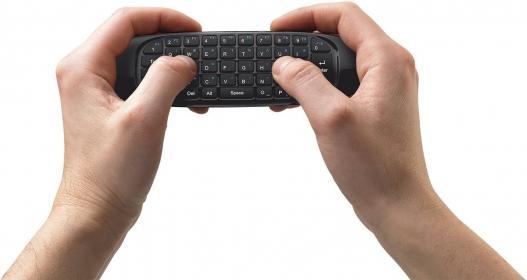 Trust Gesto wireless magyar Smart TV billentyűzet+légegér (20089)