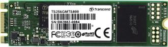 Transcend 256GB M. 2 2280 SSD SATA3 MLC . (TS256GMTS800)