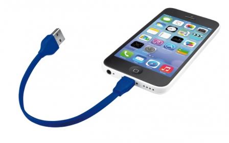 Trust 20132 20 cm kék lightning hálózati kábel