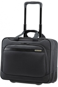 Samsonite VECTURA OFFICE CASE/WH 15.6'' fekete görgős notebook táska (39V-009-009)