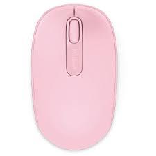 Microsoft 1850 wireless optikai rózsaszín egér (U7Z-00023)