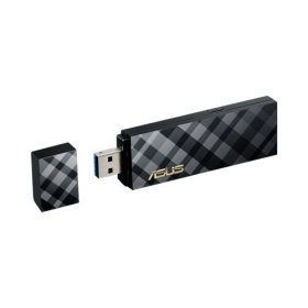 Asus USB-AC55 AC1200 USB Wireless Adapter (90IG01C1-BM0000)