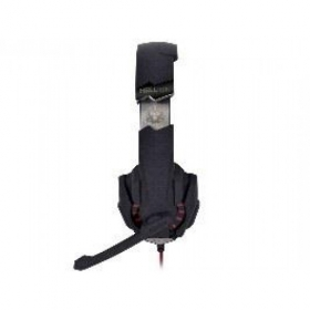 Tracer Hydra 7.1 USB mikrofonos fekete-piros gamer headset (RAVSLU45221)