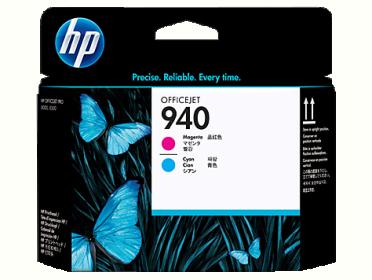 HP 940 magenta-ciánkék nyomtatófej (C4901A)