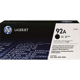 HP 92A LJ1100/3200 fekete toner (C4092A)