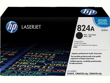 HP 824A fekete képalkotó henger (CB384A)