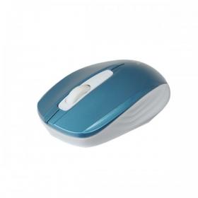 V7 MV3040 wireless optikai kék-fehér egér (MV3040-24G-BLU-15EB)