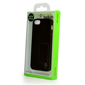 Belkin Grip Sheer Case fekete iPhone 5 telefontok (F8W093VFC00)