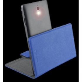Cellularline Book Case ''XXL'' univerzális kék telefontok ( BOOKUNI2LB)