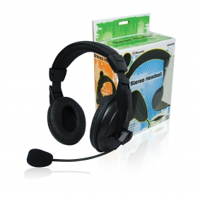 VAKOSS MH536 fekete mikrofonos fejhallgató