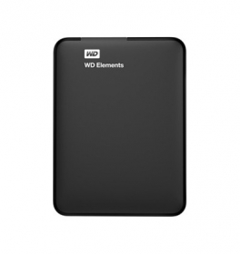 Western Digital Elements Portable 2TB  2,5'' HDD (WDBU6Y0020BBK-EESN)