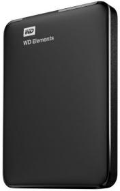 WESTERN DIGITAL Elemlents Portable 2,5'' 500GB Merevlemez (WDBUZG5000ABK-EESN)