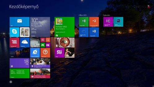 Microsoft Windows 8.1 x64 Magyar 1pk DSP OEI DVD (WN7-00610)