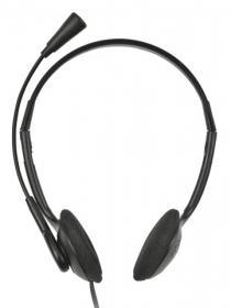 Trust HS-2100 Primo fekete mikrofonos fejhallgató