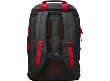 HP Odyssey Notebook Hátitáska 15,6'' Fekete-Piros (X0R83AA)
