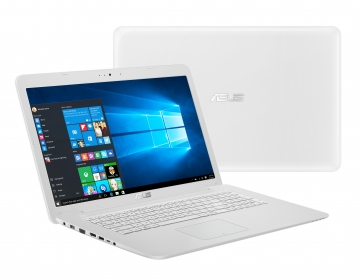 Asus X756UV-TY038D  Fehér Notebook (90NB0C72-M00380)