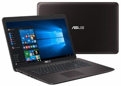 ASUS X756UX-T4110D Barna Notebook