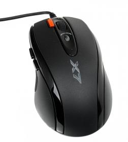 A4-Tech XL-750BK USB lézer fekete gamer egér
