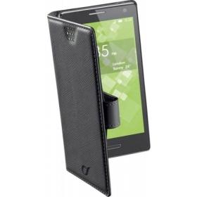 Cellularline Book Case ''XXXL'' univerzális fekete telefontok (BOOKUNI3LK)