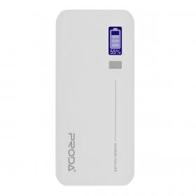 Proda JaneDual Indicator 20000 mAh fehér PowerBank (PRODA_181)