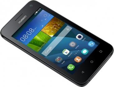 Huawei Ascend  Y360 DualSim Fekete Okostelefon  (Y360--U61B)