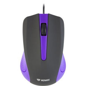 Yenkee YMS 1015PE USB optikai lila-fekete egér