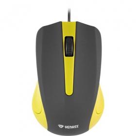 Yenkee YMS 1015YW USB optikai fekete-sárga egér