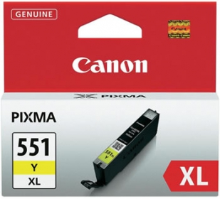 Canon CLI-551XL Y sárga tintapatron (6446B001)