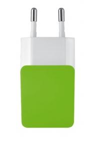 Trust Urban limezöld USB-s töltőfej (20146)