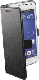 Cellularline Book G800 Samsung Galaxy S5 Mini fekete telefontok (BOOKESSGALS5MIN)