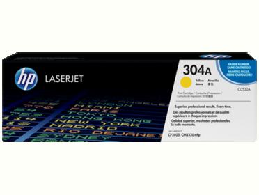 HP 304A sárga toner (CC532A)