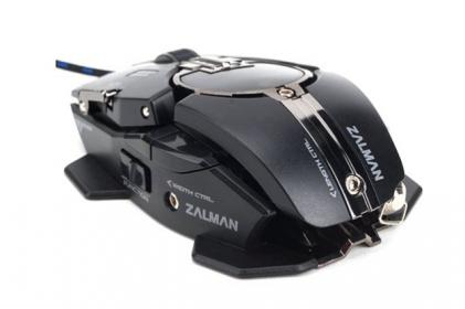 Zalman ZM-GM4 USB lézer fekete gamer egér