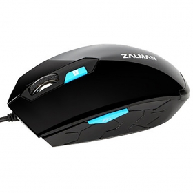 Zalman ZM-M130C USB optikai fekete egér