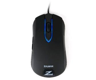 Zalman ZM-M201R USB optikai fekete gamer egér