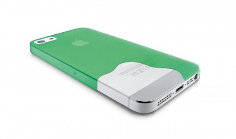 Cellularline iPhone 5/5S zöld védőtok (035IPHONE5G)