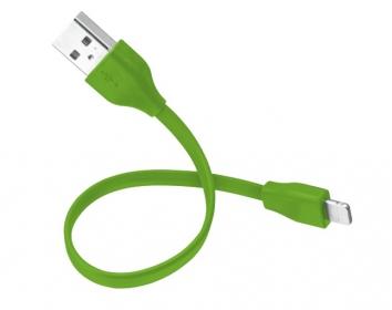 Trust LIGHTNING CHIP 20 cm zöld adatkábel (20134)