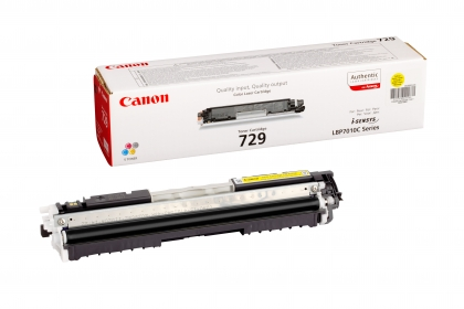 Canon CRG-729Y sárga toner