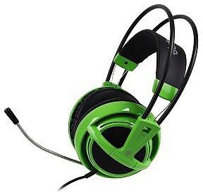 SteelSeries Siberia V2 zöld-fekete mikrofonos gamer fejhallgató (C7012111) bbaf1149ea