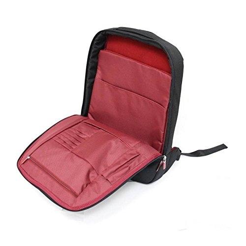 Belkin F8N159EABR 17   fekete-piros notebook hátizsák 274aa8d834