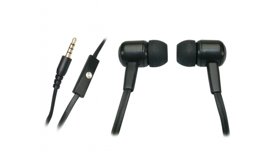 Sandberg Speak n Go In-Earset mikrofonos fekete headset (125-62) 11ab44a19b