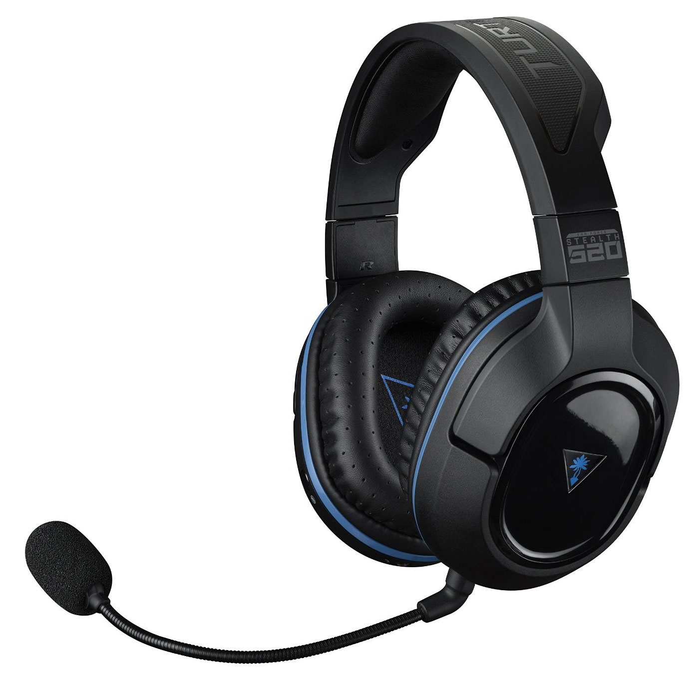 Turtle Beach Ear Force Stealth 520 Wireless 7.1 Surround Gaming Headset  Fekete Kék 7e91f8d64a