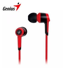 Genius HS-M225 piros-fekete mikrofonos mobil headset (31710193102)