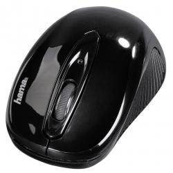HAMA AM-7300 wireless optikai fekete egér (86537)