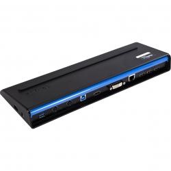 Targus Docking Station USB 3.0 fekete beépített töltős dokkoló (ACP71EUZ)