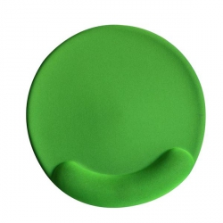 VAKOSS PD-423GN  zselés csuklótámaszos zöld egérpad