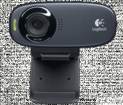 Logitech C310 HD fekete webkamera (960-000638)