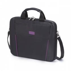 Dicota Slim Case Base 15.6''  fekete-lila notebook táska (D31000)