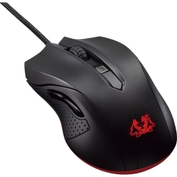 ASUS CERBERUS GAMING USB optikai fekete gamer egér (CERBERUS/GAMING/MOUSE)