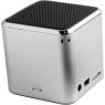 Technaxx MusicMan BT-X2 Speaker System - Wireless Speaker(s) - Portable - Battery Rechargeable - Silver - Bluetooth - iPod Supported